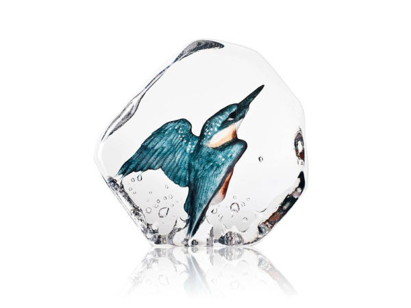 Maleras Crystal Wildlife Kingfisher