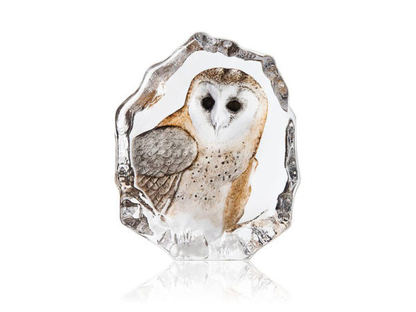 Maleras Crystal Wildlife Barn Owl