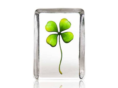 Maleras Crystal Global Icons Four Leaf Clover