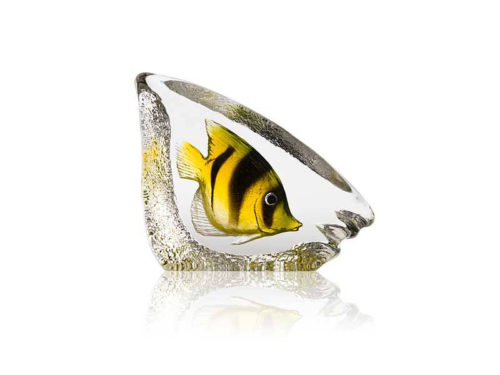Maleras Crystal Wildlife Coral Fish Yellow