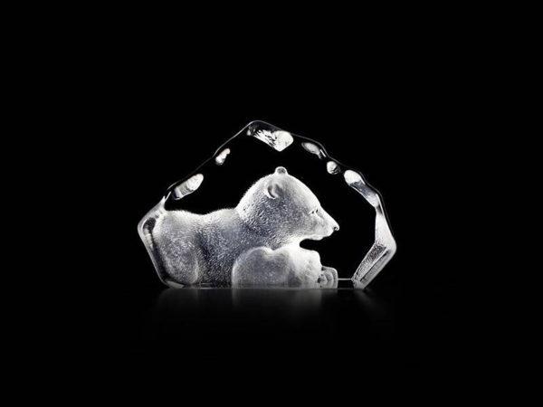 Maleras Crystal Miniature Baby Polar Bear