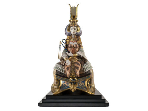 Lladro High Porcelain Cleapatra