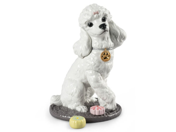 Lladro Poodle with Mochis