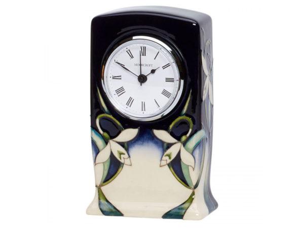 Moorcroft Pottery Twenty Winters Clock