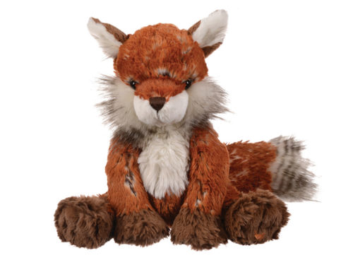 An Adorable plush toy of Autumn the fox