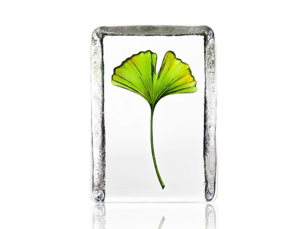 Maleras Crystal Global Icon Ginko Leaf