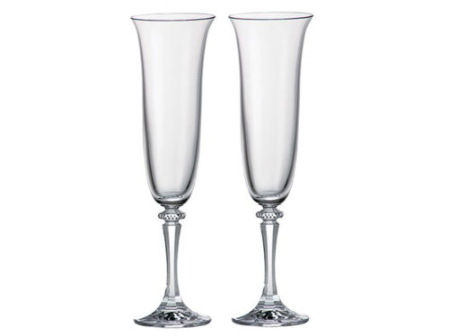 Royal Scot Crystal Classic Champagne Flutes
