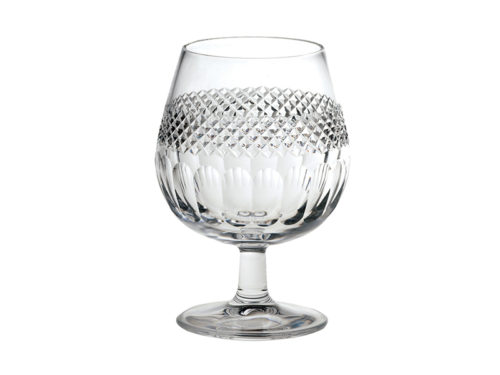 Royal Scot Crystal Diamante Brandy Glass