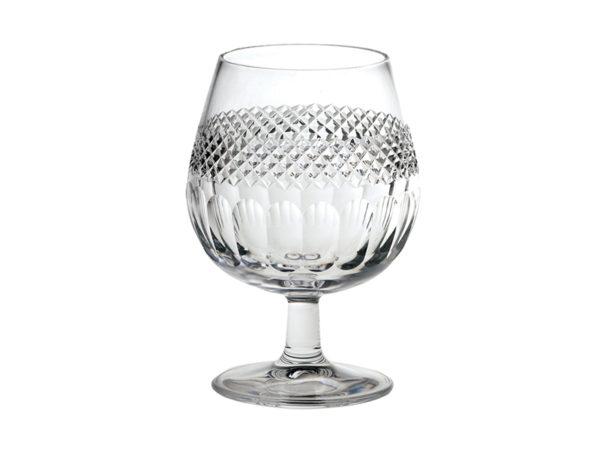Royal Scot Crystal Diamante Brandy Glass