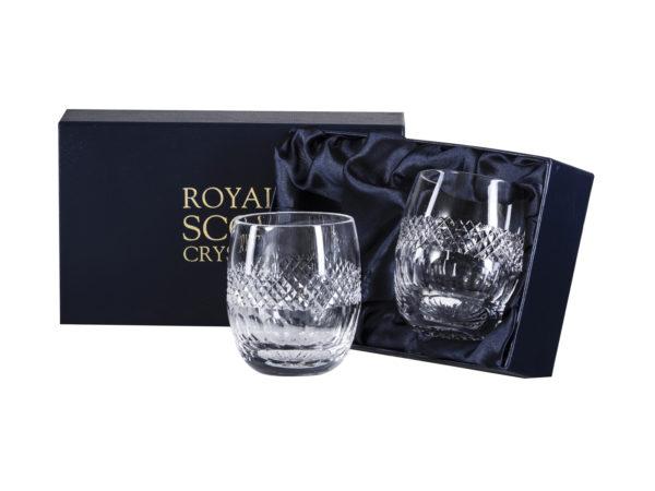 Pair of Royal Scot Crystal Gin & Tonic Tumblers