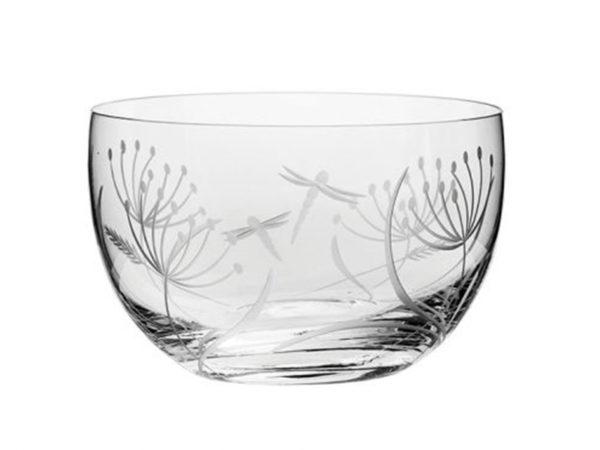 Royal Scot Crystal Dragonfly Bowl