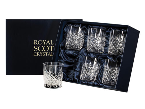 Royal Scot Crystal Large Whisky Tumblers - Set of 6