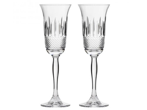 Royal Scot Crystal Eternity Champagne Flutes