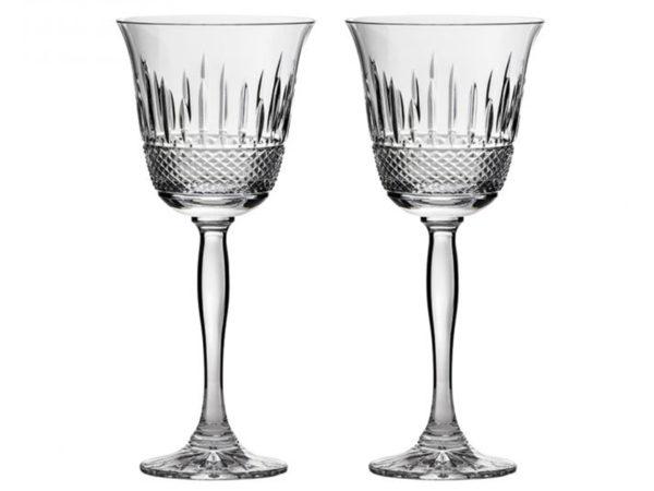 Royal Scot Crystal Eternity Wine Tumblers