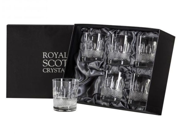 Royal Scot Crystal Eternity Whisky Tumblers