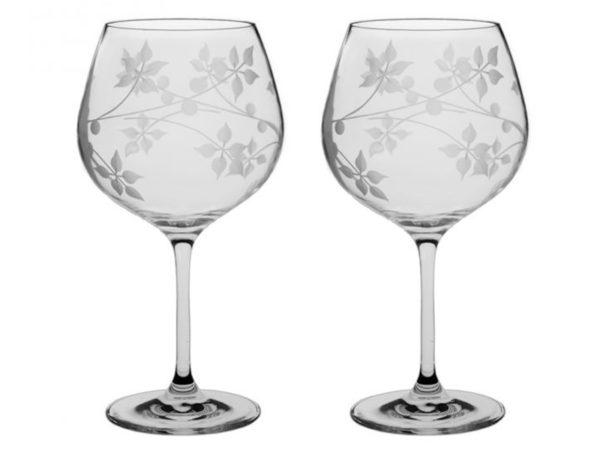 Royal Scot Crystal Juniper Gin Copa Glass - Pair