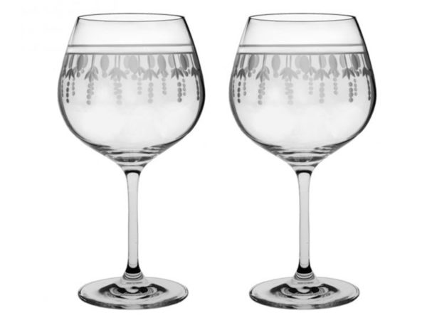 Royal Scot Crystal Nouveau Gin Copa Glass - Pair