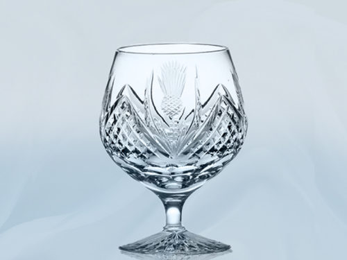 Royal Scot Scottish Thistle Crystal