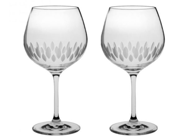 Royal Scot Crystal Zest Gin Copa Glass - Pair