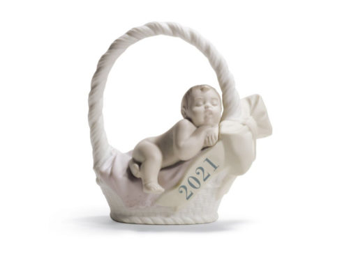 lladro figurine for baby girls born in 2021